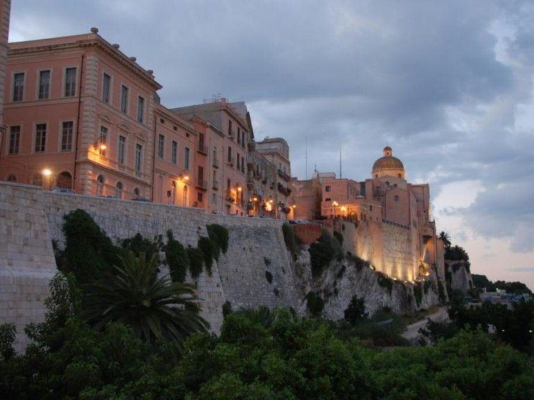 The castle of Cagliari