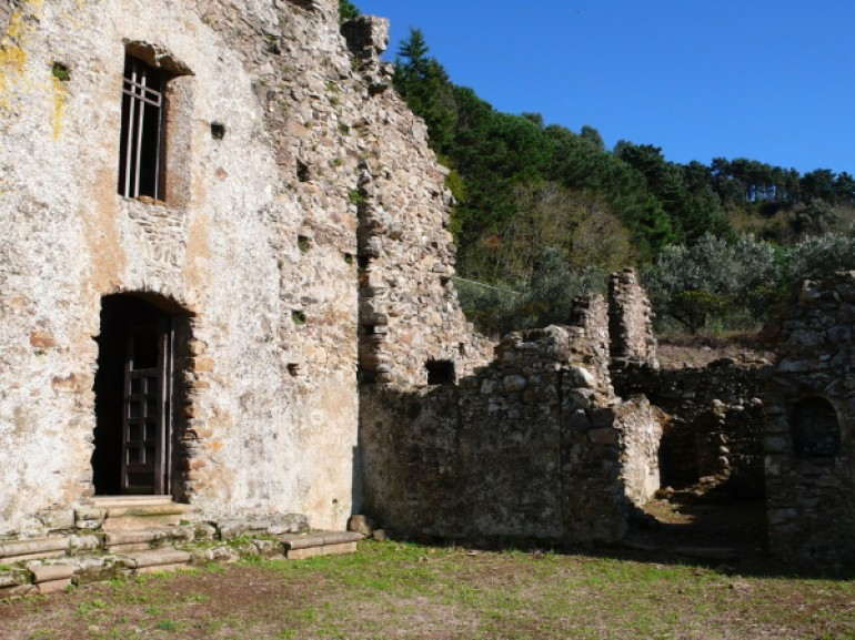 The ruins of the chapel of St. Elias, Curinga, Calabria
