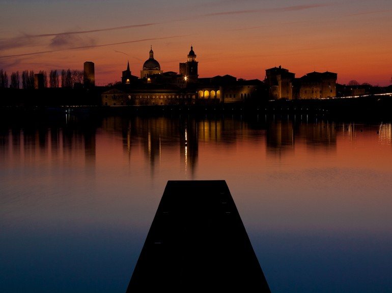 Sunset in Mantua, foto di drs1ump via Flickr