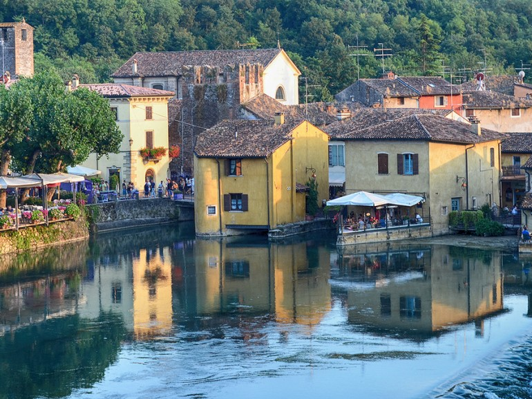 Borghetto, suburb of Valeggio sul Mincio, photo di Claudio Pimazzoni via Flickr