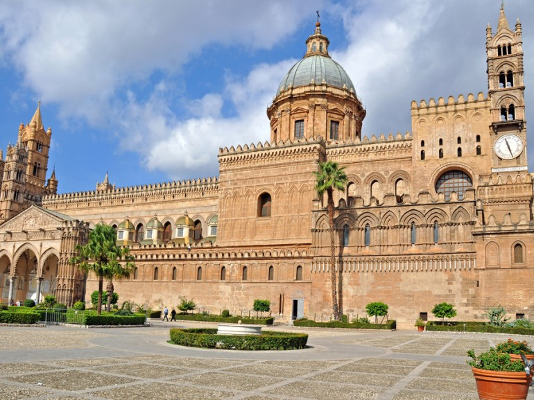 Palermo Cathedral is a Metropolitan Cathedral of the Assumption of Virgin Marie. It is characterized by the presence of different styles.