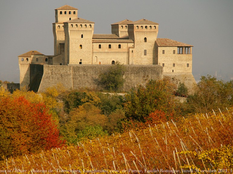 Tower of Montechiara, photos of Renaud Camus via Flickr