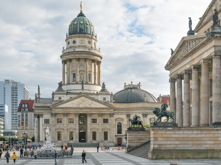 Gendarmenmarkt, the most beautiful square of Berlin