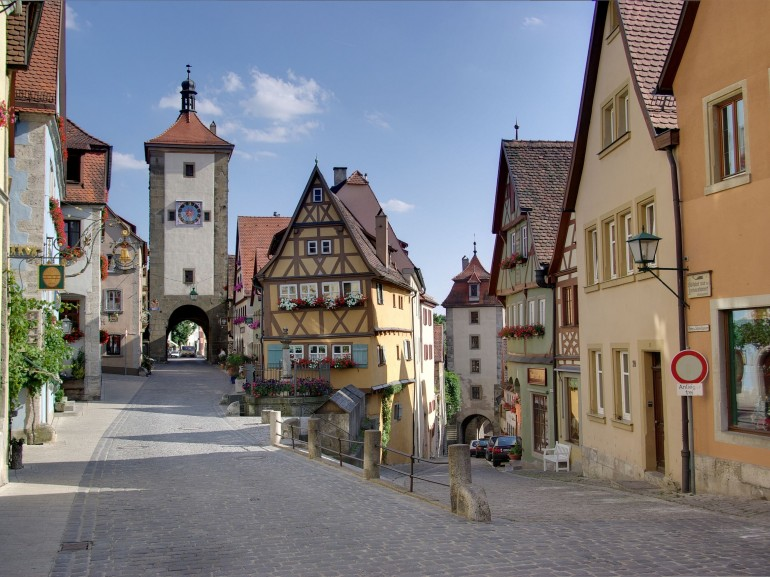 Rothenburg ob der Tauber, foto via Wikipedia