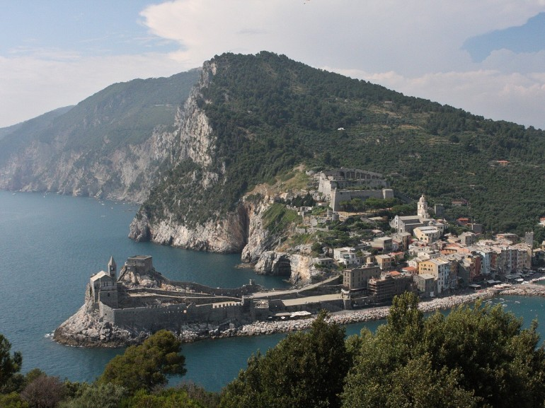 Portovenere and the villages of Cinque Terre were designated by UNESCO as a World Heritage Site