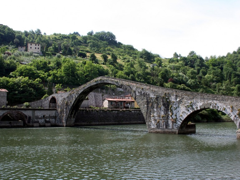 The Devil's Bridge in Garfagnana