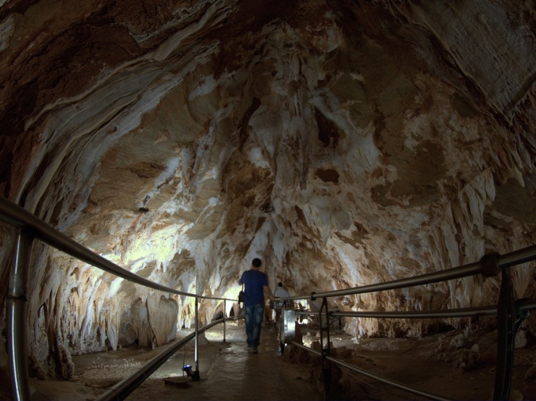 The Toirano Caves  are a remarkable karst cave system located in the municipality of Toirano