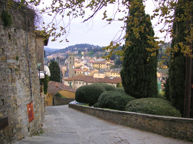Fiesole, along the Renaissance Ring path