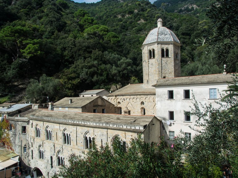 A particular of the abbey of San Fruttuoso