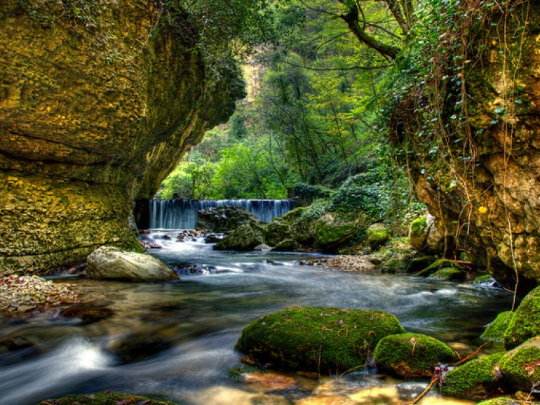 Caramanico Terme (PE), The Orfento's Valley, photo by Francesco Moscone via Flickr