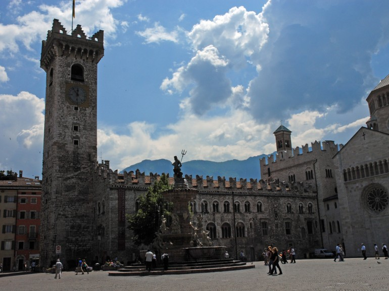 Trento is the region's capital