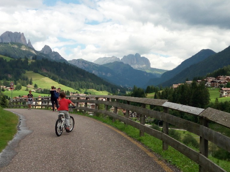 The Dolomites Route