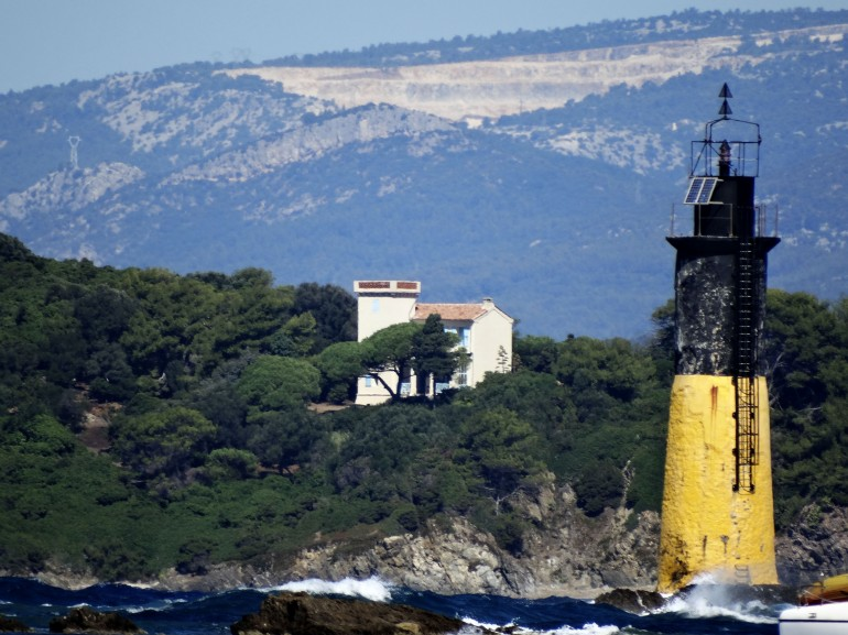 The lighthouse of Porquerolles