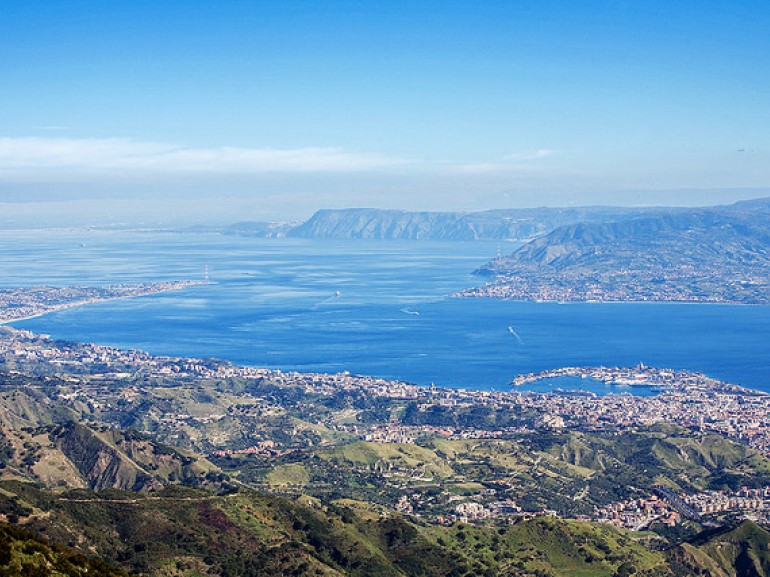 Breathtaking views and the Strait of Messina, photo by Alexander Grussu via Flickr