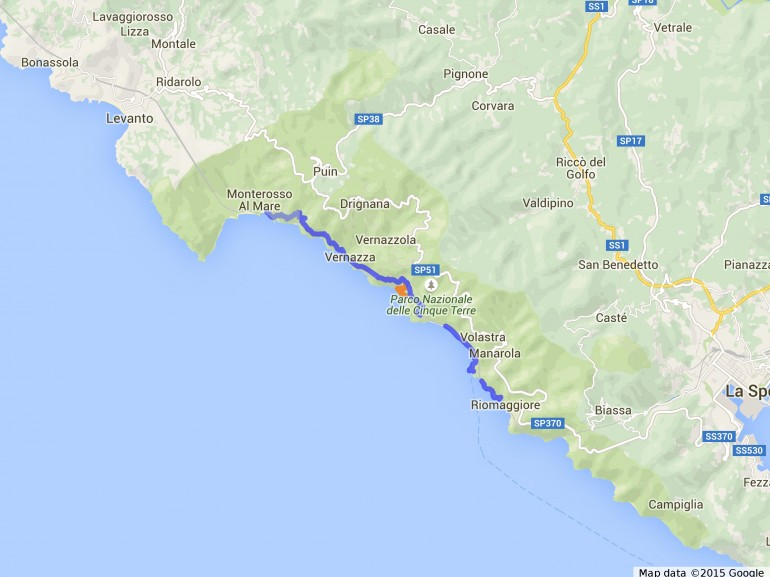 Walking through the wonders of Cinque Terre