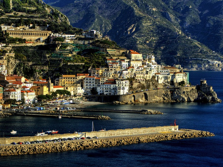Breathtaking view of the coast of Salerno, photo by grazie davvero via Flickr