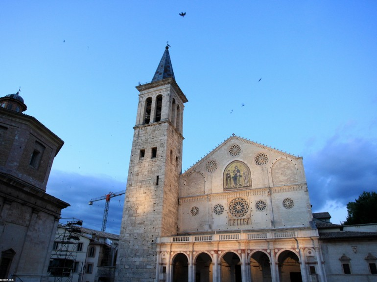 Cathedral of Santa Maria Assunta in the evening