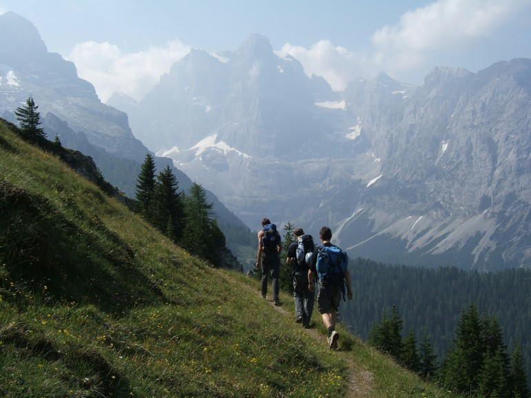 The Brenta Dolomites is a mountain range, and a subrange of the Rhaetian Alps in the Southern Limestone Alps