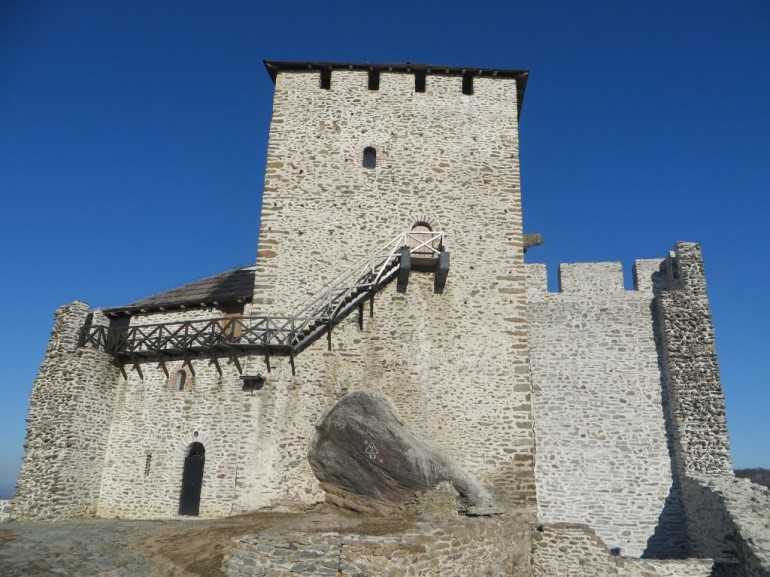 The Vrsac 's fortress where you can enjoy a breathtaking view