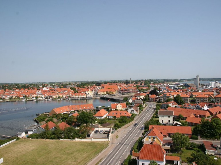 Kerteminde from above