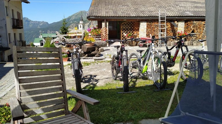 Car-free holiday in Chamois