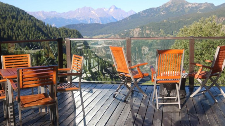 Eco-friendly hotel in Chamois, Aosta Valley