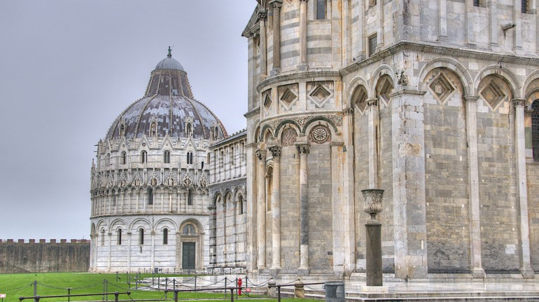 Pisa, Piazza dei Miracoli, one of the Unesco sites in Tuscany